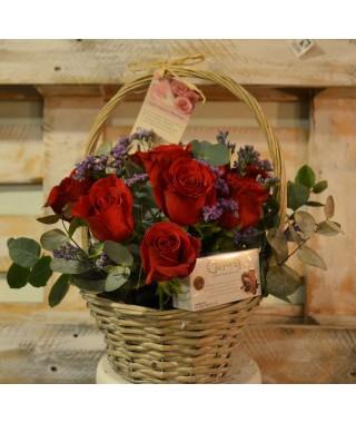 12 Rosas & Free Chocolates