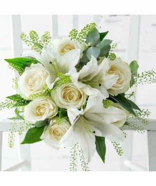 Rosas Blancas & Lirios