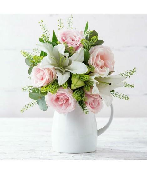 Rosas Rosadas & Lirios