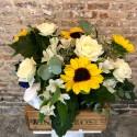 Yellow Flower Box & ginebra Nordés
